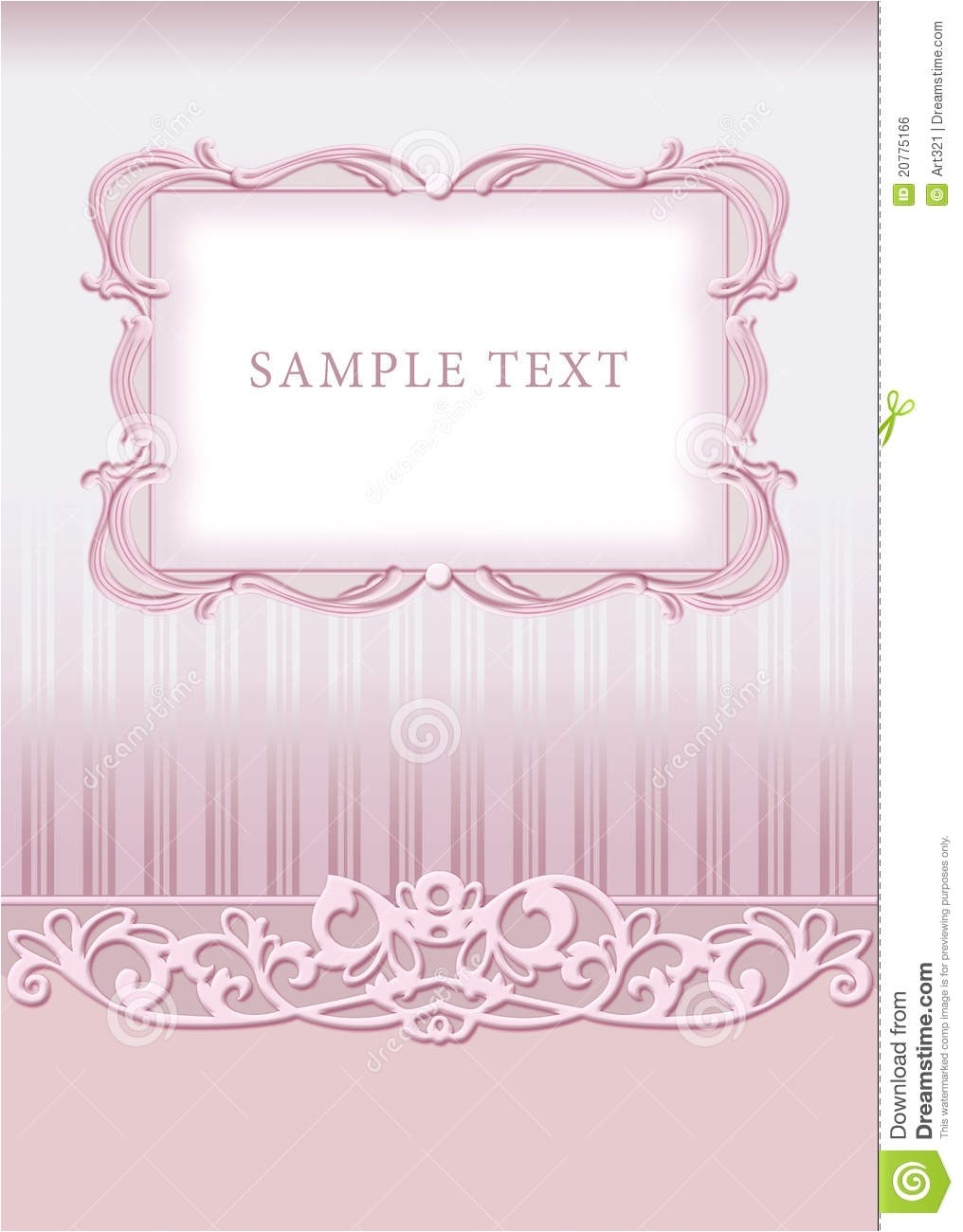 Time Frame for Wedding Invitations Wedding Invitation Frame Royalty Free Stock Image Image