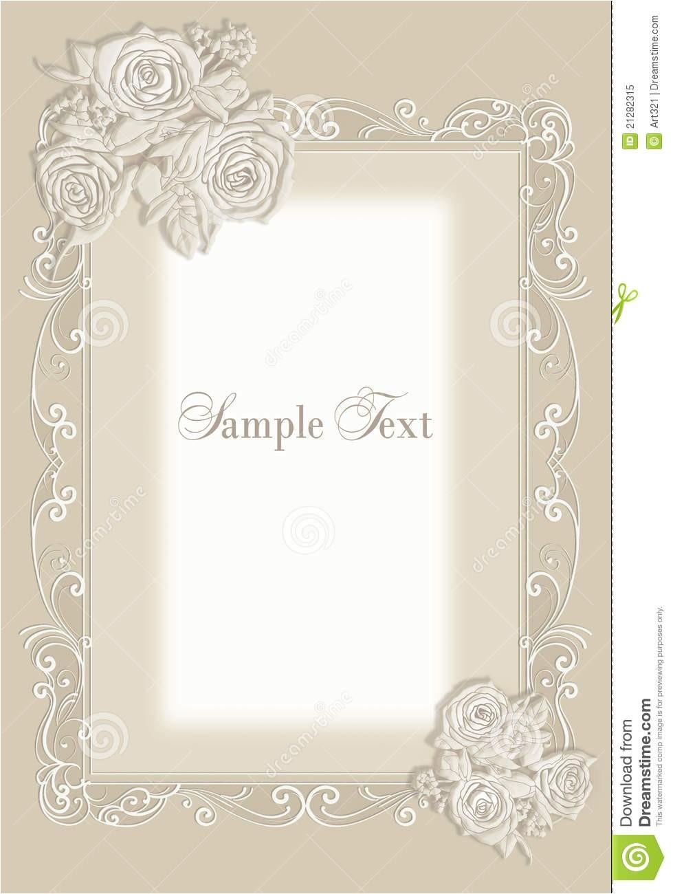 royalty free stock photo wedding invitation frame image21282315