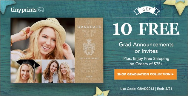 10 free graduation announcement or invitations
