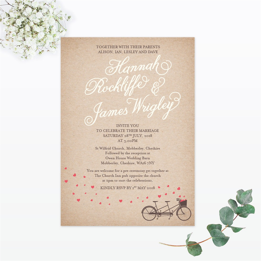 wedding stationery wording