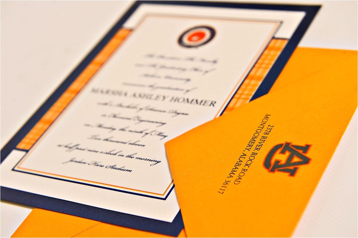 traditional graduation announcements