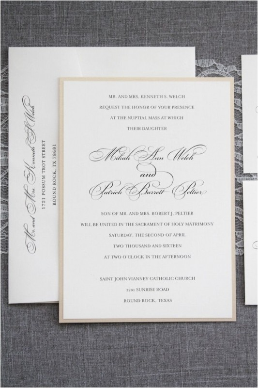 2017 affordable traditional wedding invitations ideas