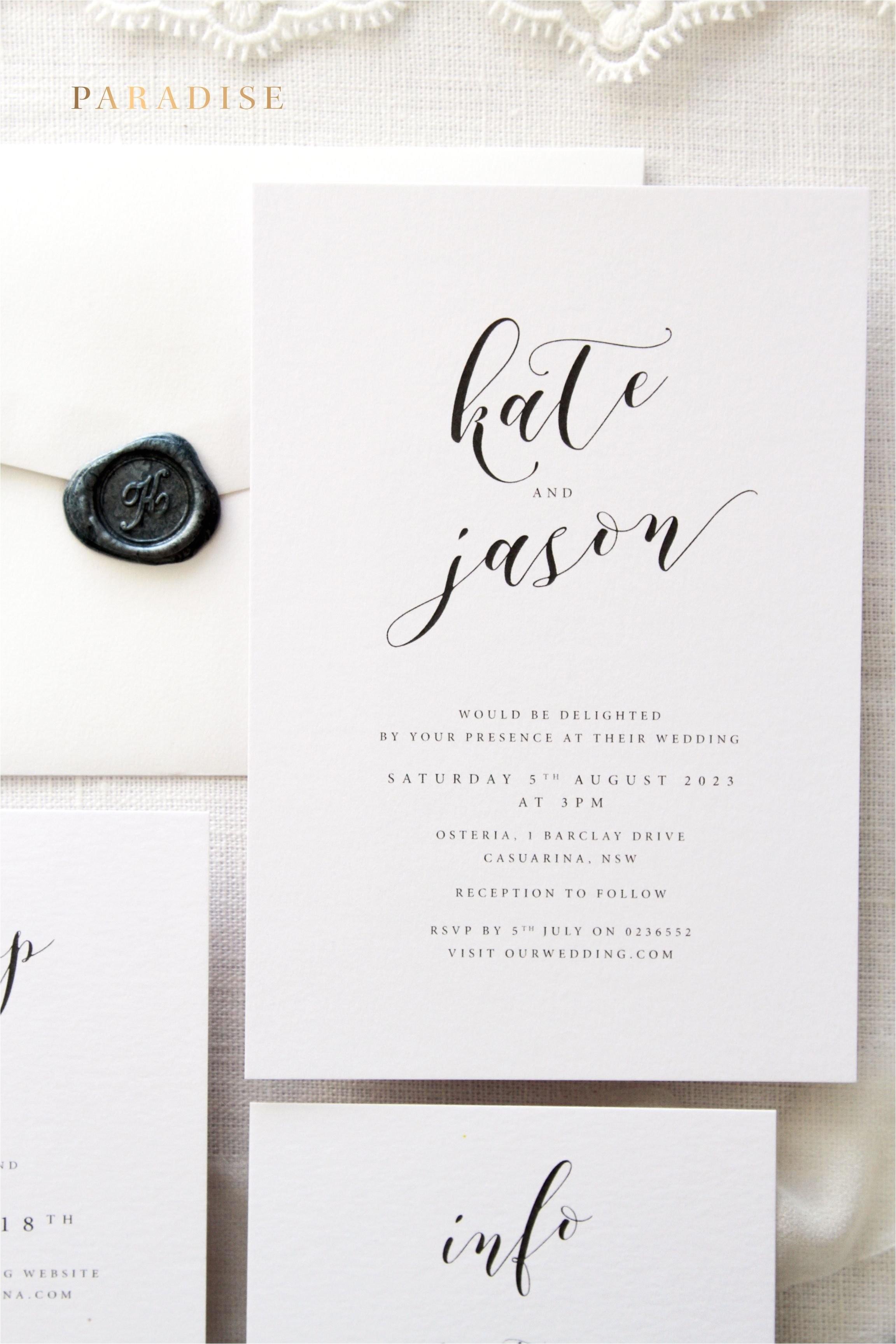 truly romantic wedding invitations