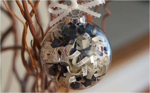 invitation ornament