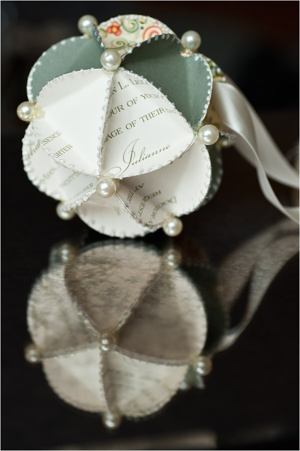 wedding invite ornament ornament made from wedding invitations united with love