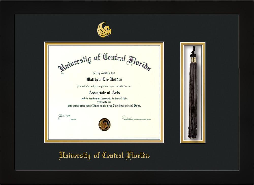 university of central florida diploma frames ba ma and p