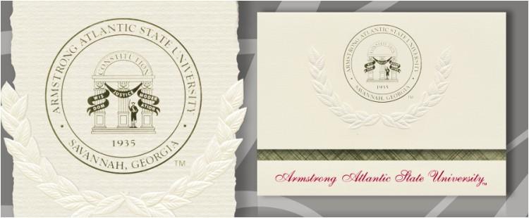 armstrong atlantic state university graduation announcements