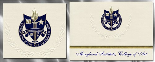 maryland institute college of art graduation announcements