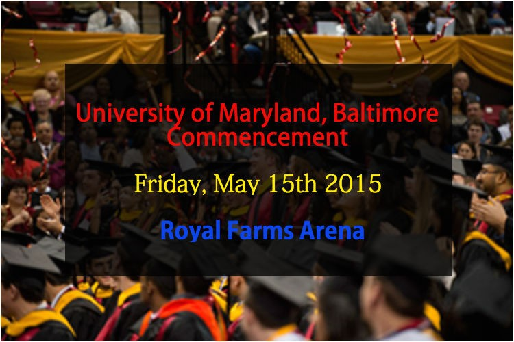 2015 university of maryland baltimore commencement