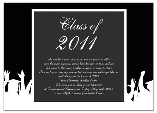 unique graduation invitations template
