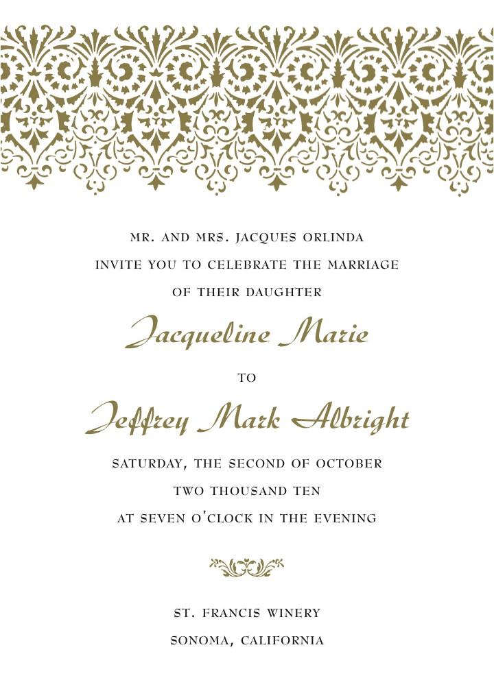 new unique wedding invitations