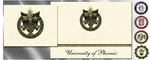 university of phoenix graduation announcements