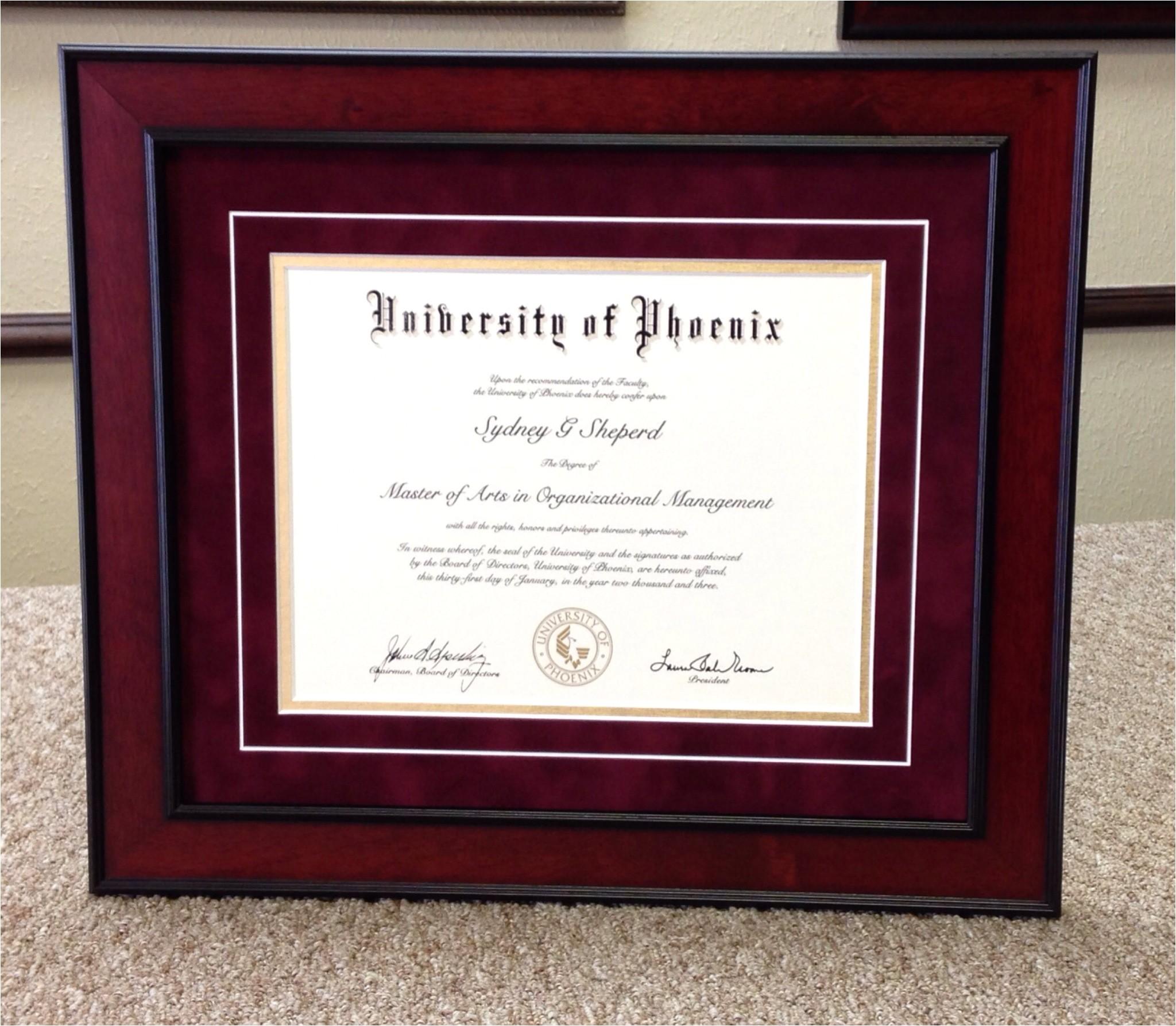 university of phoenix graduation invitations