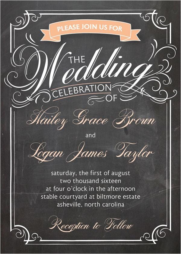 find your attractive wedding invite wording