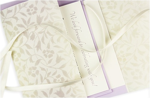 5 vellum wedding invitations