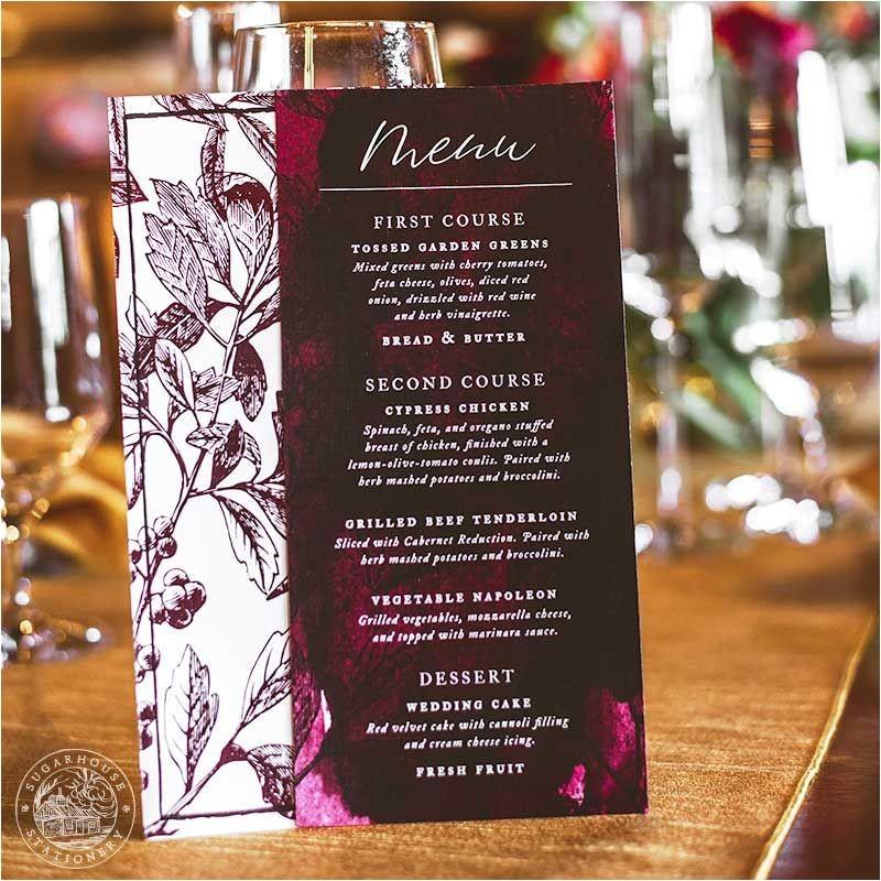 vermont wedding invitations