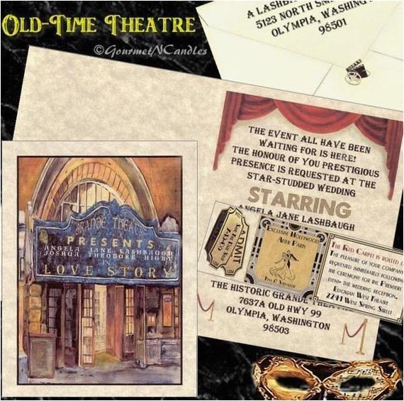 qty 50 vintage theatre movie old