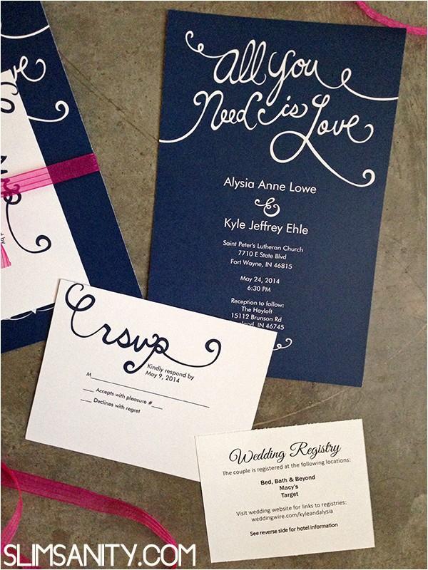 affordable wedding invitations vistaprint