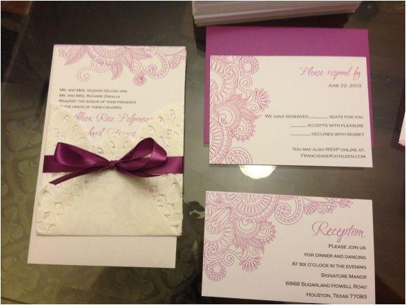 vista print wedding invitations template