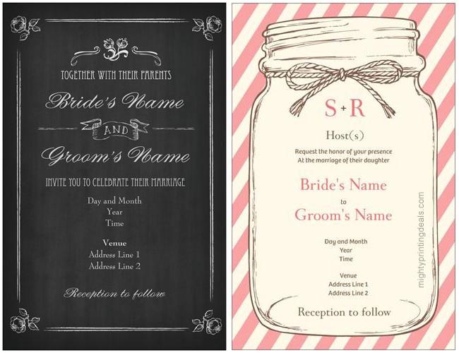 vistaprint wedding invitation coupon