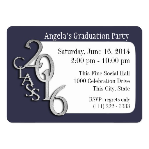 grad party photo insert card 240807191573565018