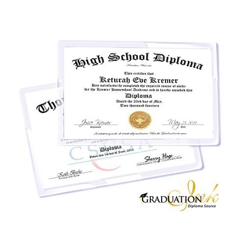 diploma printing