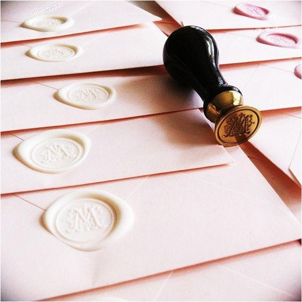 wax seal the invitation pinterest