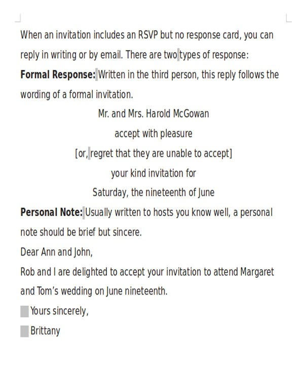 formal invitation letters