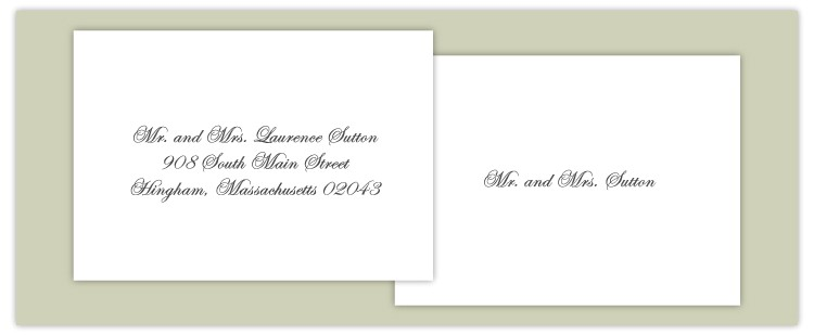 customized addressing service eliminates wedding invitation wdldcrck