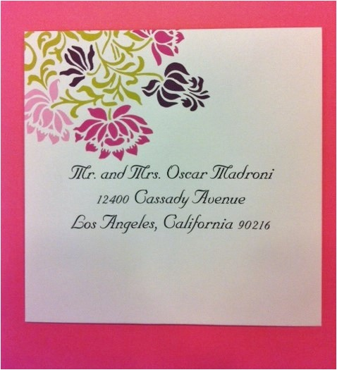 los angeles california 90216 envelope addressing servicehyegraph invitations calligraphy