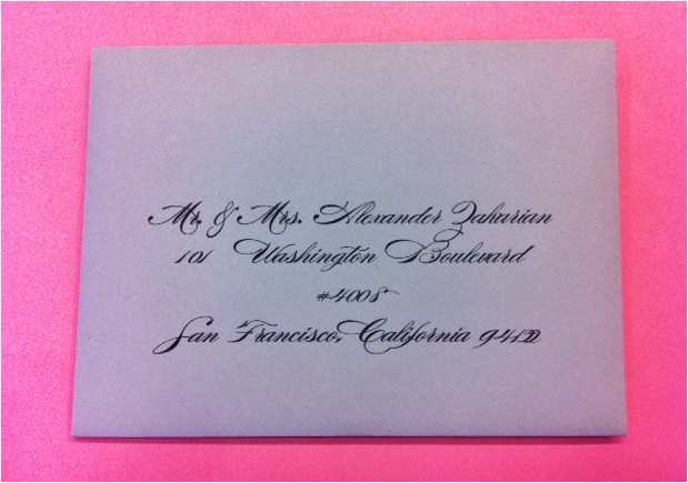 san francisco envelope addressing service wedding invitation calligraphy calligraphy
