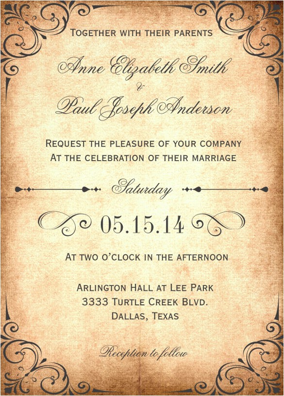 designs wedding invitation wording examples from both parents as