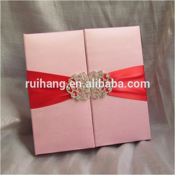wholesale silk wedding invitation silk box 60147610057