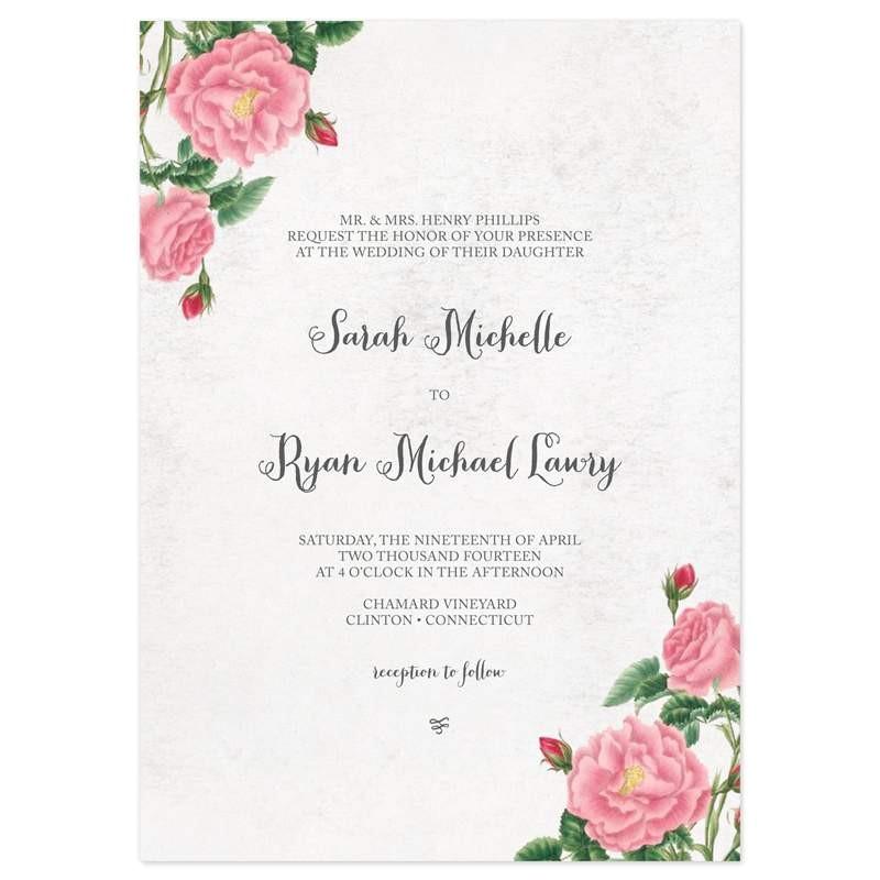 unique wedding invitation wording