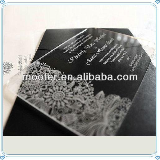 unique engraved flower engraved invitation card 911818972