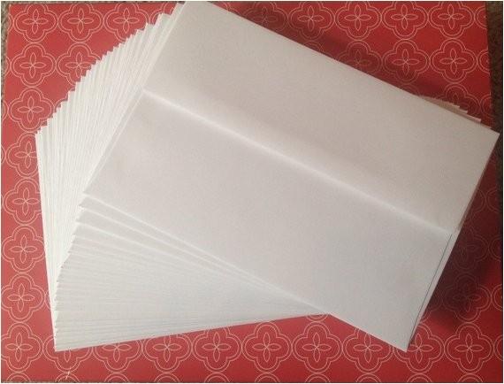 Wedding Invitation Envelopes 5×7 Envelopes White 5×7 Envelopes Wedding by Missstickerjunkie