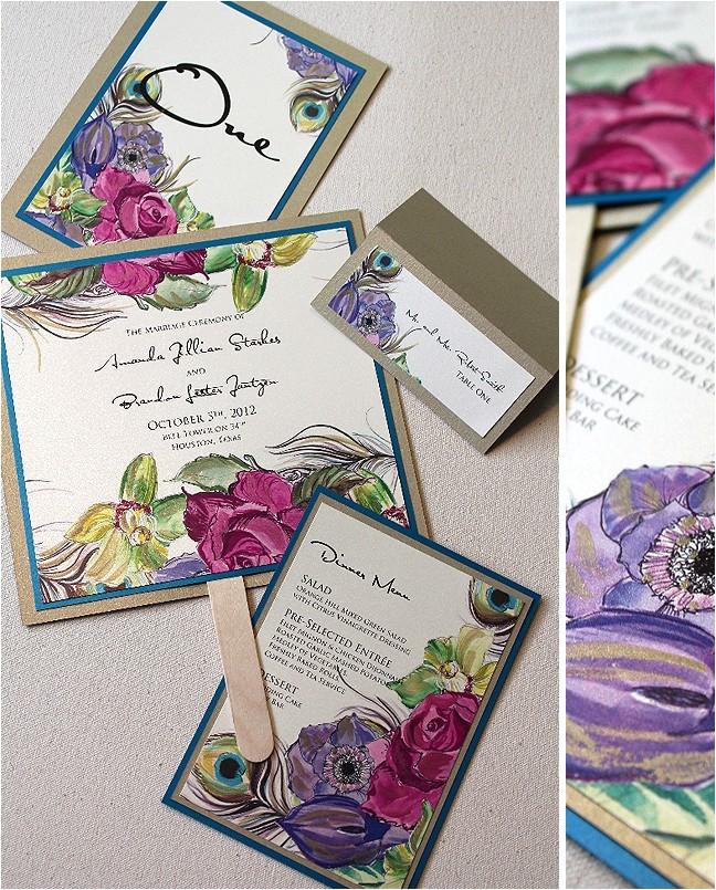 wedding invitation jewels