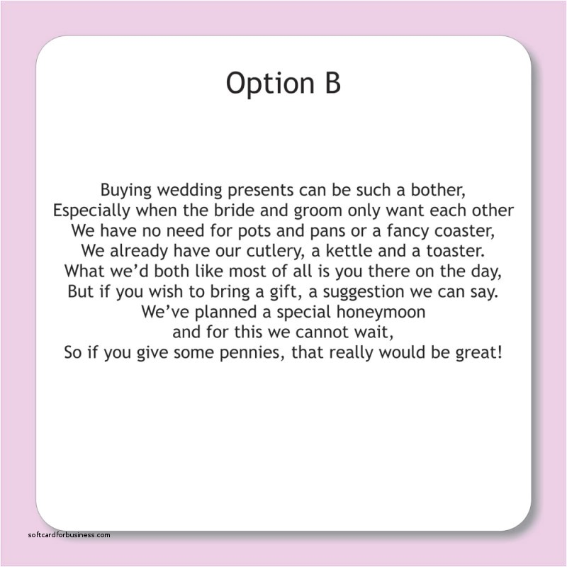 gift list wording wedding invitations