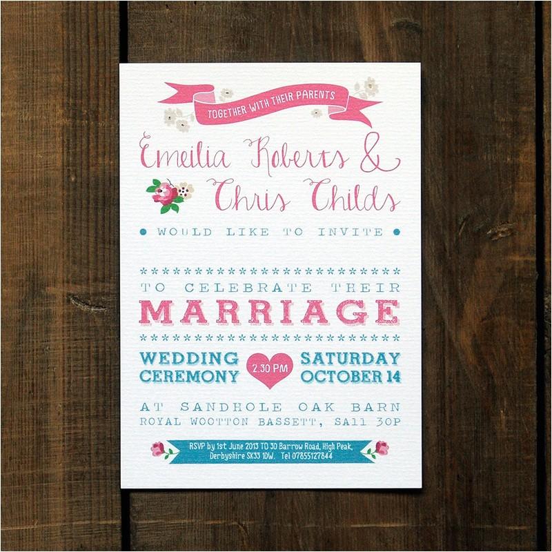 wedding invitation name order