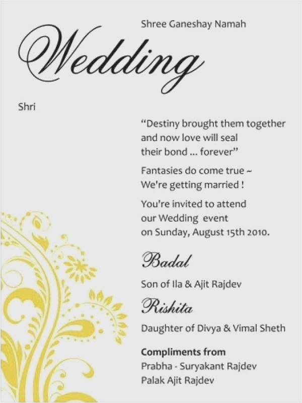 wedding invitation quotes for friends in english