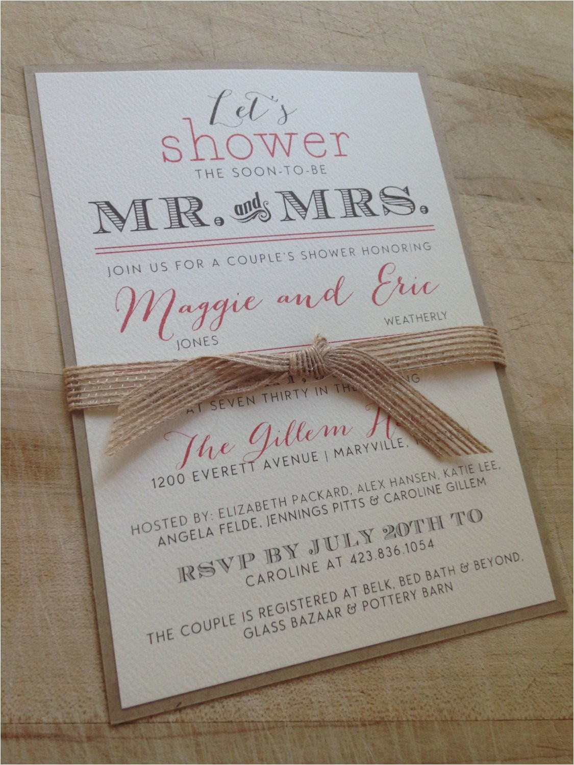 couples wedding shower invitation ref shop home active 4
