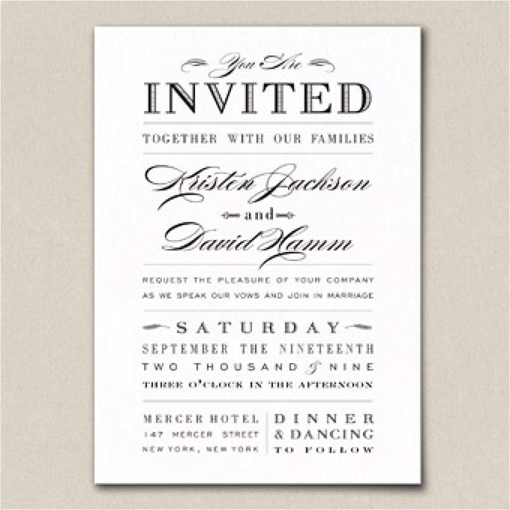 sample wedding invitations wording