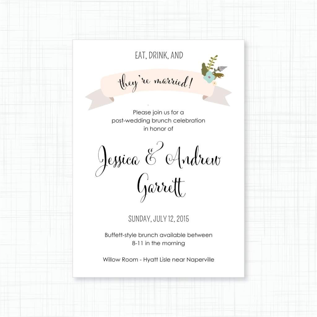 wedding invitation wording couple hosting