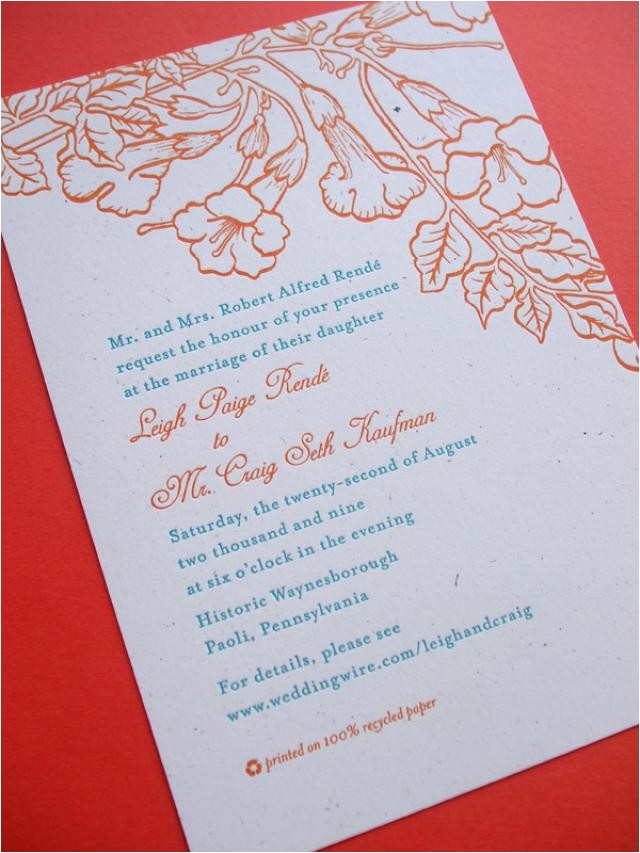 wedding invitations divorced parents