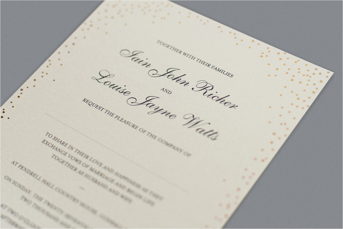 invitation wording together with their parents