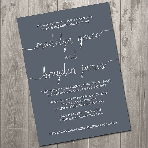 Wedding Invitation Wording without Parents Wedding Invitation Wording without Parents Cobypic Com