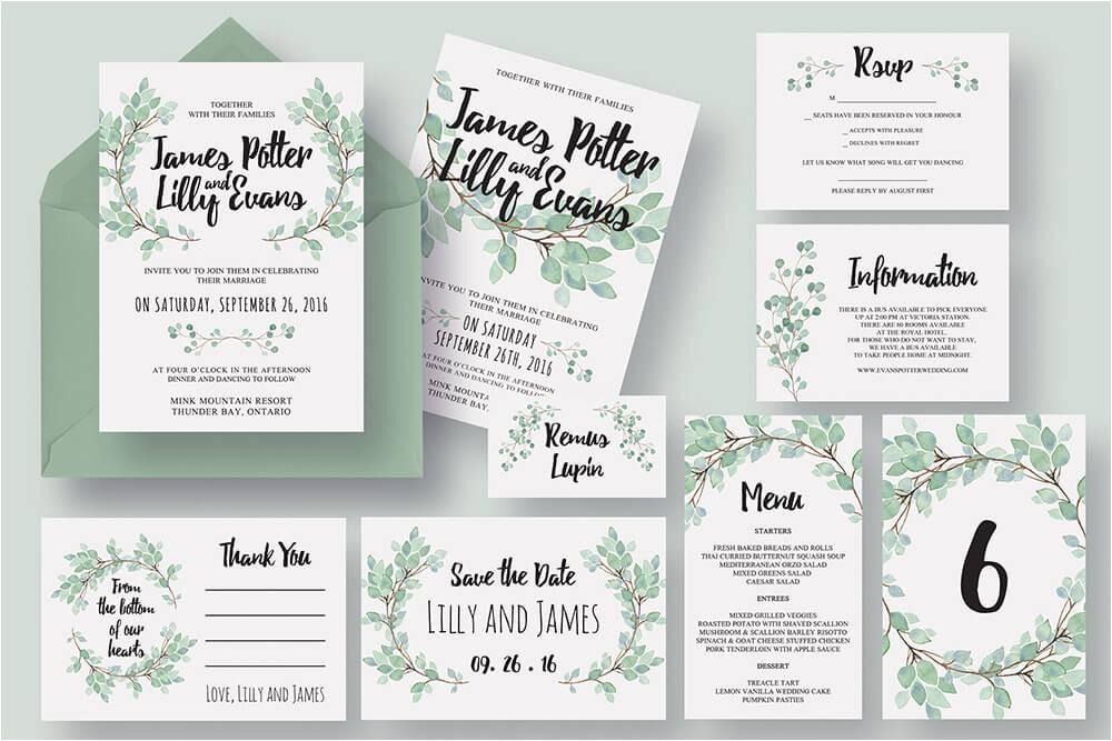 50 examples of wonderfully designed wedding invitations