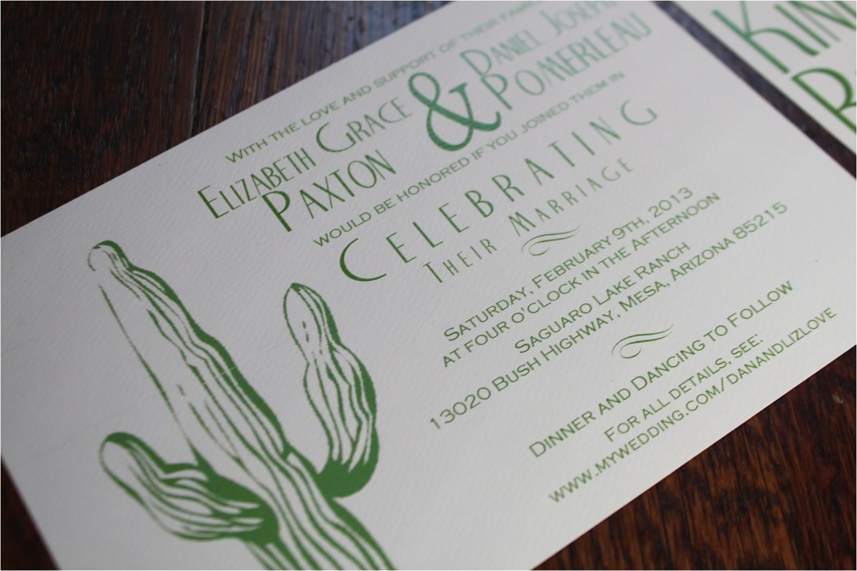 desert wedding invitation cactus tumbleweed green invitation dessert wedding modern fonts arizona sedona green cactus western