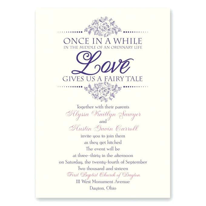 invitation text sample