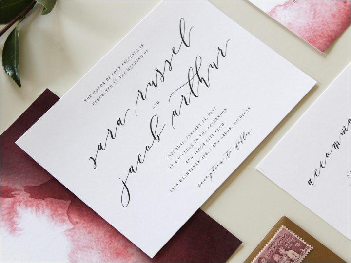 modern wedding invitations charlotte nc